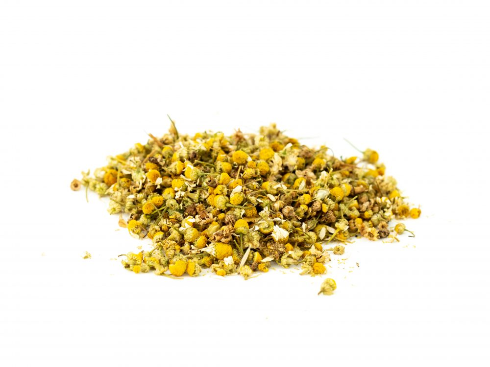 chamomile flowers whole cut and sifted