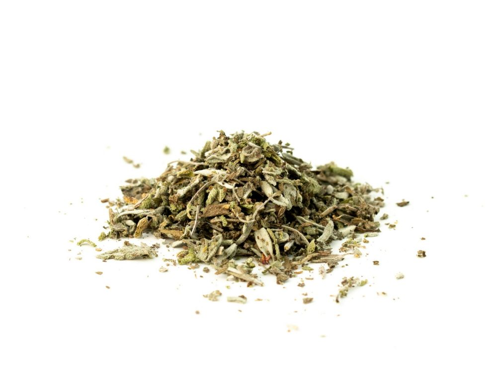 sage cut and sifted
