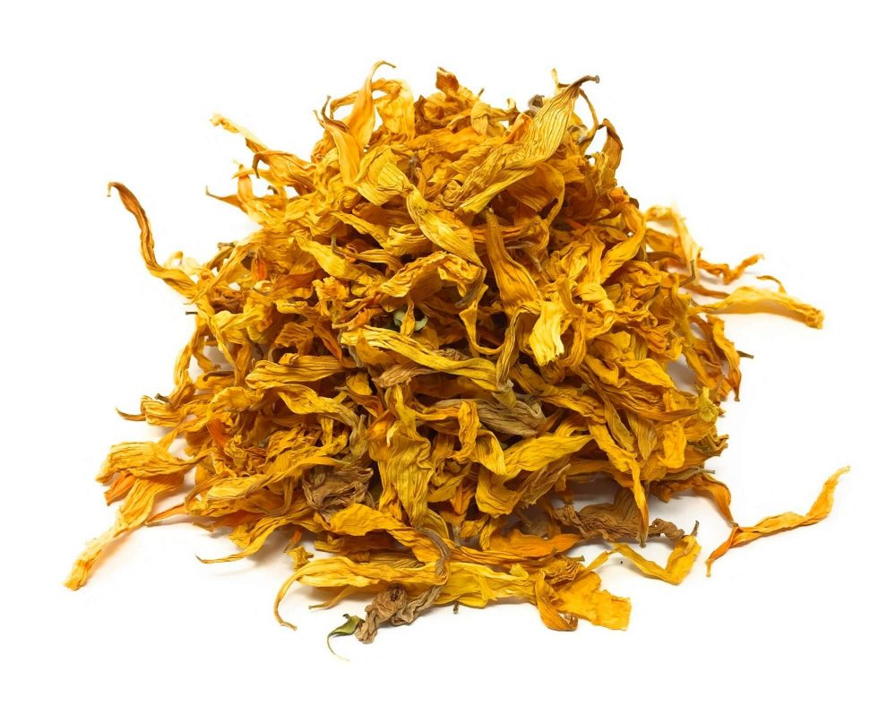 sunflower petals and whole