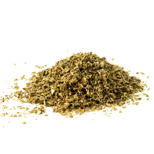 oregano cut and sifted